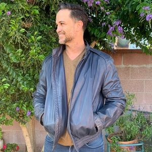 Summit by Robert Comstock Leather Jacket